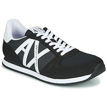 Čevlji  Moški Nizke superge Armani Exchange XCC68-XUX017 Črna