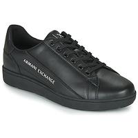 Čevlji  Moški Nizke superge Armani Exchange XV262-XUX082 Črna