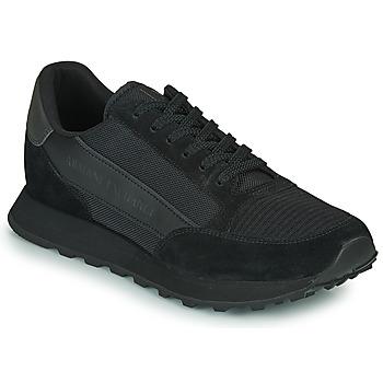 Čevlji  Moški Nizke superge Armani Exchange XV263-XUX083 Črna