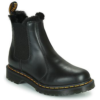 Čevlji  Ženske Polškornji Dr Martens 2976 LEONORE Črna
