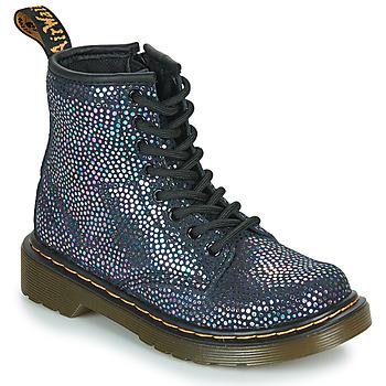 Čevlji  Deklice Polškornji Dr Martens 1460 J Črna / Metalíza