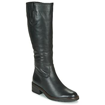 Čevlji  Ženske Mestni škornji    Gabor 5609757 Črna