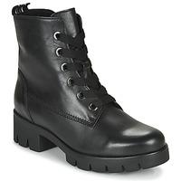 Čevlji  Ženske Gležnjarji Gabor 5171137 Črna