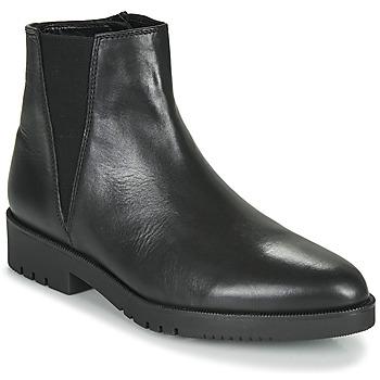 Čevlji  Ženske Gležnjarji Gabor 5658157 Črna