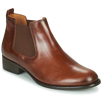 Čevlji  Ženske Gležnjarji Gabor 5164020 Kamel