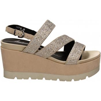 Čevlji  Ženske Sandali & Odprti čevlji Luciano Barachini CAMOSCIO naturale