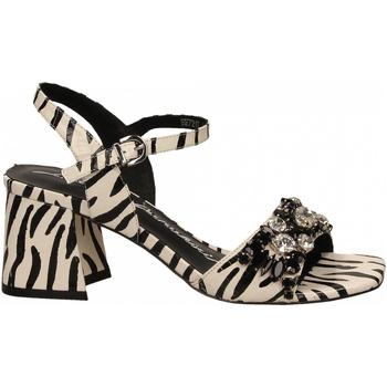 Čevlji  Ženske Sandali & Odprti čevlji Luciano Barachini WIPS zebra