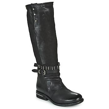 Čevlji  Ženske Mestni škornji    Airstep / A.S.98 TEAL HIGH Črna