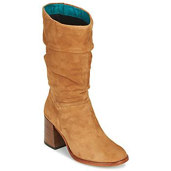 Čevlji  Ženske Mestni škornji    Mjus TUA Bež
