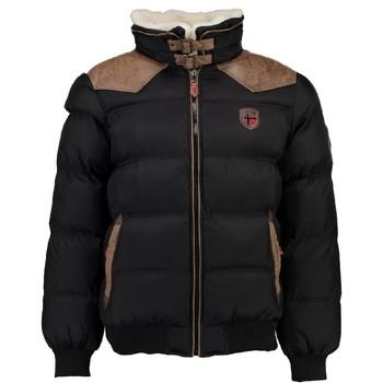 Oblačila Dečki Puhovke Geographical Norway ABRAMOVITCH BOY Črna