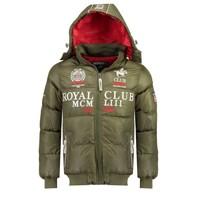 Oblačila Dečki Puhovke Geographical Norway AVALANCHE BOY Kaki