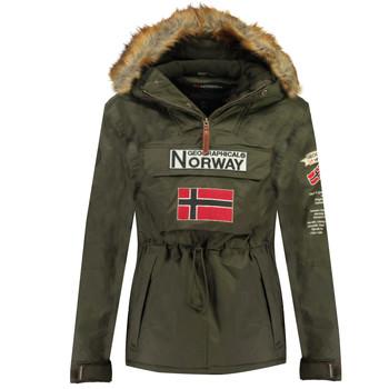 Oblačila Dečki Parke Geographical Norway BARMAN BOY Kaki