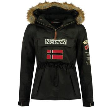 Oblačila Dečki Parke Geographical Norway BARMAN BOY Črna