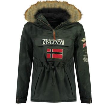Oblačila Dečki Parke Geographical Norway BARMAN BOY Siva
