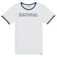 Oblačila Dečki Majice s kratkimi rokavi Kaporal ONYX Bela