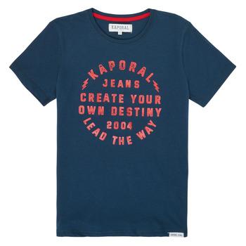 Oblačila Dečki Majice s kratkimi rokavi Kaporal ORVAL Modra