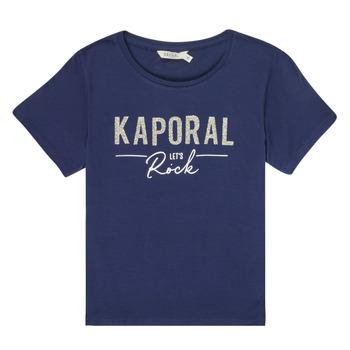 Oblačila Deklice Majice s kratkimi rokavi Kaporal MAPIK Modra