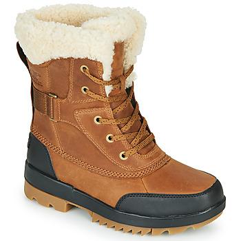 Čevlji  Ženske Škornji za sneg Sorel TORINO II PARC BOOT Kostanjeva