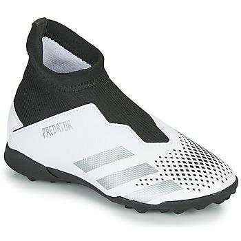 Čevlji  Otroci Nogomet adidas Performance PREDATOR 20.3 LL TF Bela