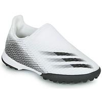 Čevlji  Otroci Nogomet adidas Performance X GHOSTED.3 LL TF J Bela