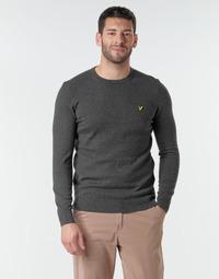 Oblačila Moški Puloverji Lyle & Scott KN400VC Siva