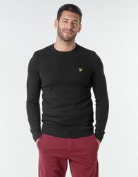 Oblačila Moški Puloverji Lyle & Scott KN400VC Črna