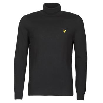 Oblačila Moški Puloverji Lyle & Scott KN1020V Črna