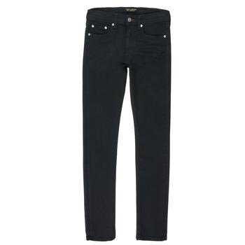 Oblačila Dečki Jeans straight Teddy Smith FLASH Črna