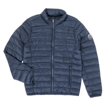 Oblačila Dečki Puhovke Teddy Smith BLIGHT Modra