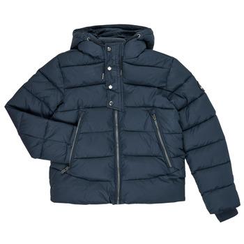 Oblačila Dečki Puhovke Teddy Smith OVER Modra