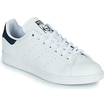 Čevlji  Nizke superge adidas Originals STAN SMITH VEGAN Bela / Modra