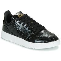 Čevlji  Ženske Nizke superge adidas Originals SUPERCOURT W Črna / Varnish
