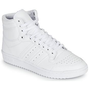 Čevlji  Visoke superge adidas Originals TOP TEN Bela