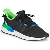 Čevlji  Moški Nizke superge adidas Originals U_PATH RUN Črna / Zelena