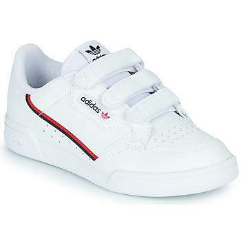 Čevlji  Otroci Nizke superge adidas Originals CONTINENTAL 80 CF C Bela