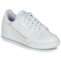 Čevlji  Deklice Nizke superge adidas Originals CONTINENTAL 80 J Bela