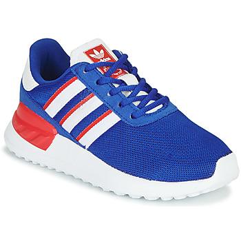 Čevlji  Dečki Nizke superge adidas Originals LA TRAINER LITE C Modra