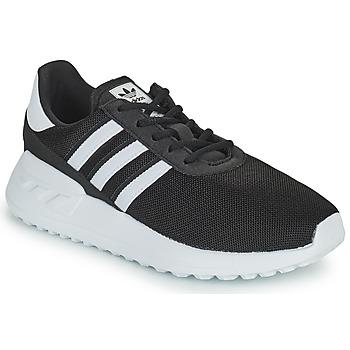 Čevlji  Otroci Nizke superge adidas Originals LA TRAINER LITE C Črna / Bela