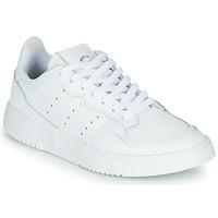 Čevlji  Otroci Nizke superge adidas Originals SUPERCOURT J Bela