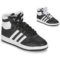 Čevlji  Otroci Visoke superge adidas Originals TOP TEN J Črna / Bela