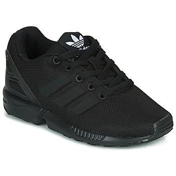 Čevlji  Otroci Nizke superge adidas Originals ZX FLUX C Črna
