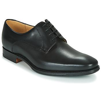 Čevlji  Moški Čevlji Derby Barker ELLON Črna