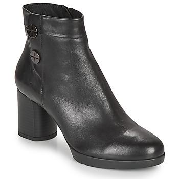 Čevlji  Ženske Gležnjarji Geox ANYLLA MID Črna