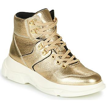 Čevlji  Ženske Gležnjarji Geox MACAONE Zlata