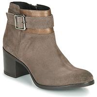 Čevlji  Ženske Gležnjarji Geox NEW ASHEEL Bež