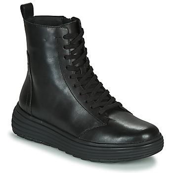 Čevlji  Ženske Polškornji Geox PHAOLAE Črna