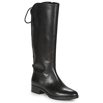 Čevlji  Ženske Mestni škornji    Geox FELICITY Črna