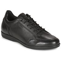 Čevlji  Moški Čevlji Derby Geox ADRIEN Črna