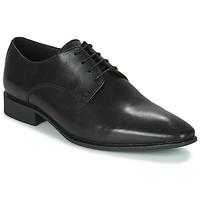Čevlji  Moški Čevlji Derby Geox UOMO HIGH LIFE Črna
