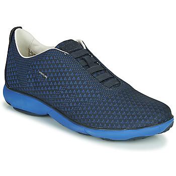 Čevlji  Moški Nizke superge Geox U NEBULA E Modra